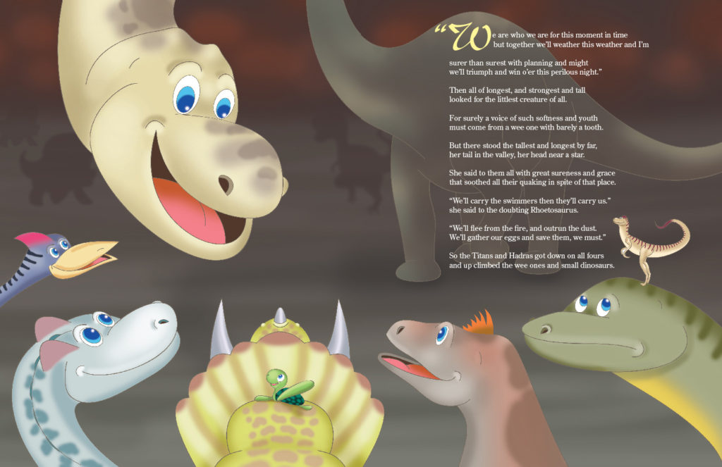 Quassilla and the dinosaurs